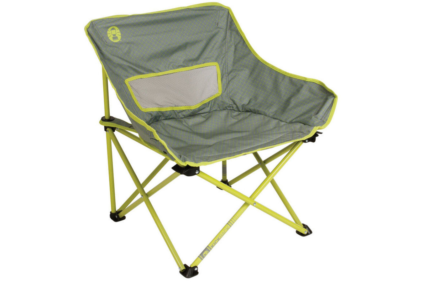 Coleman Kickback Breeze Chair Lime At Addnature